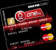 ONE FM CARD
